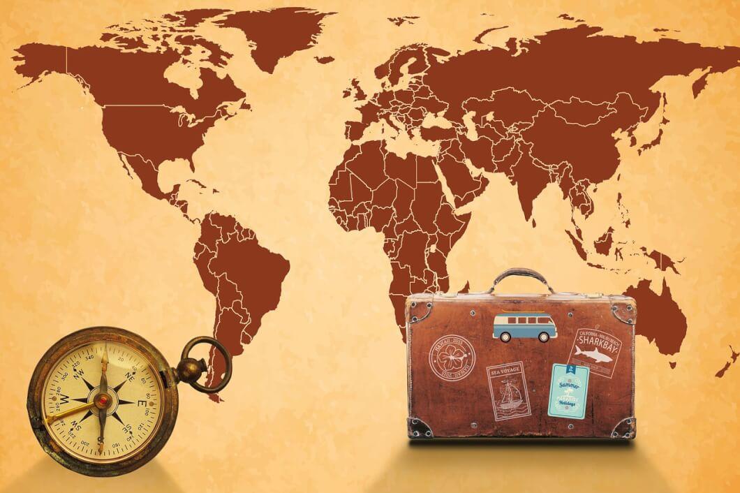 旅の予定ルート