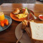 【133日目】美味しくてボリュームのある朝食は元気が出るp(^_^)q